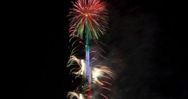 احتفالات برج خليفة بالعام الجديد
