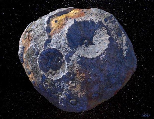 """""""كويكب ذهبي"""" يمكنه جعل كل فرد على الأرض مليارديرا"""
