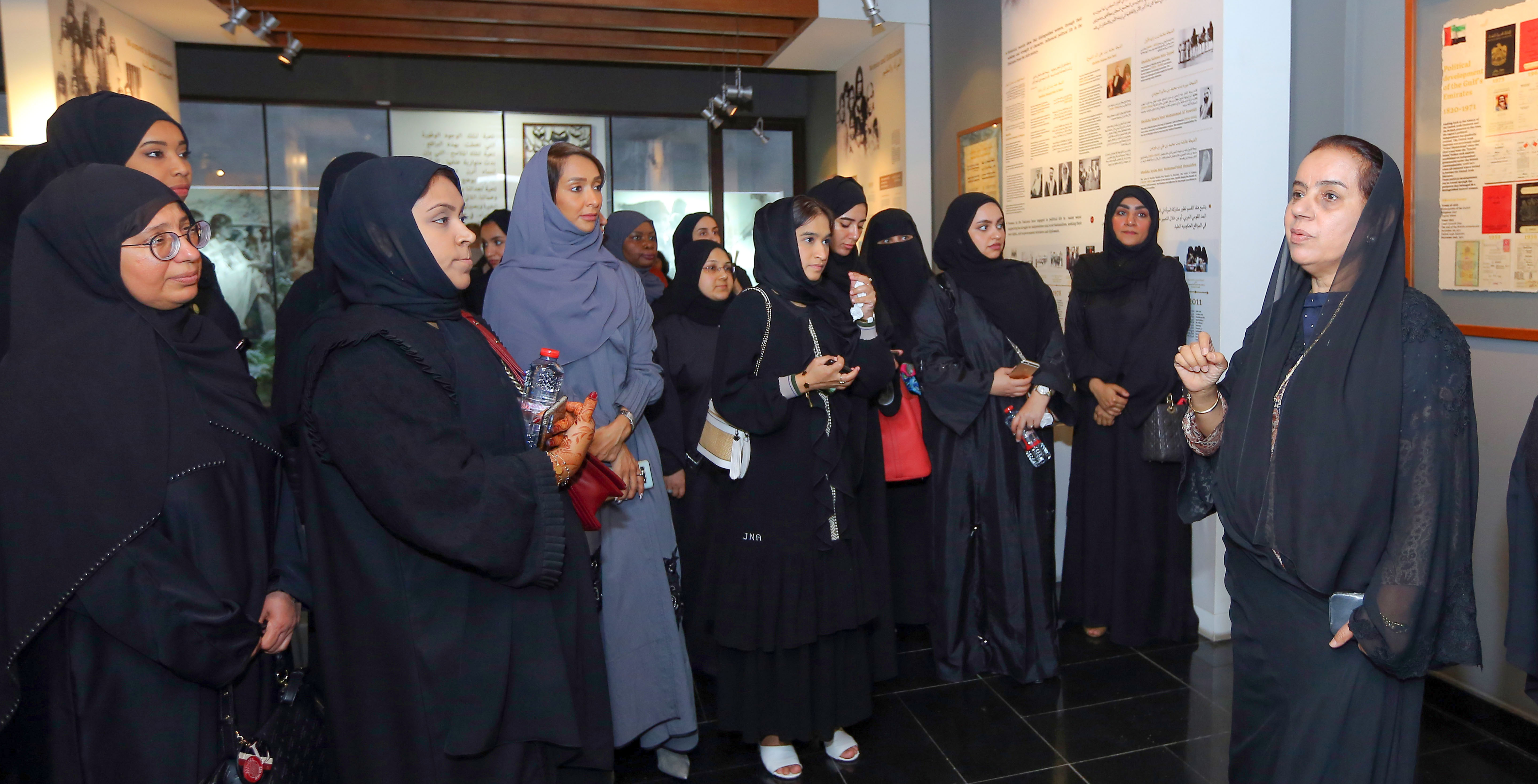 DEWA's Women Committee organises visit for its female employees to Women's Museum in Dubai