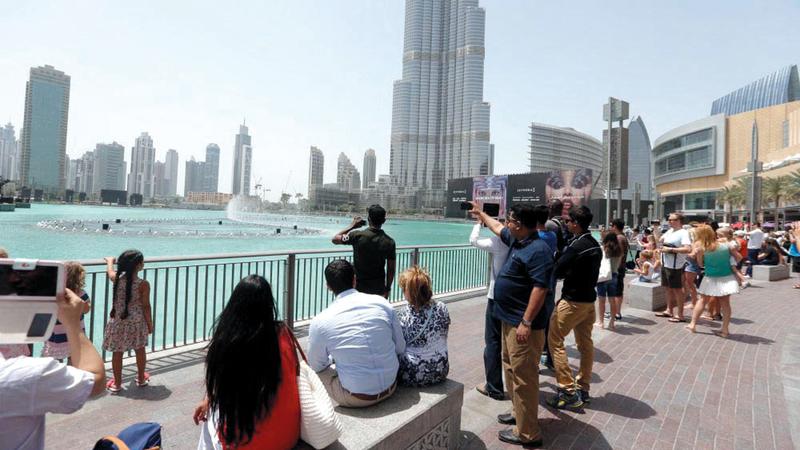 «السياحة العالمية»: 4918 درهماً متوسط إنفاق السائح الدولي في دبي