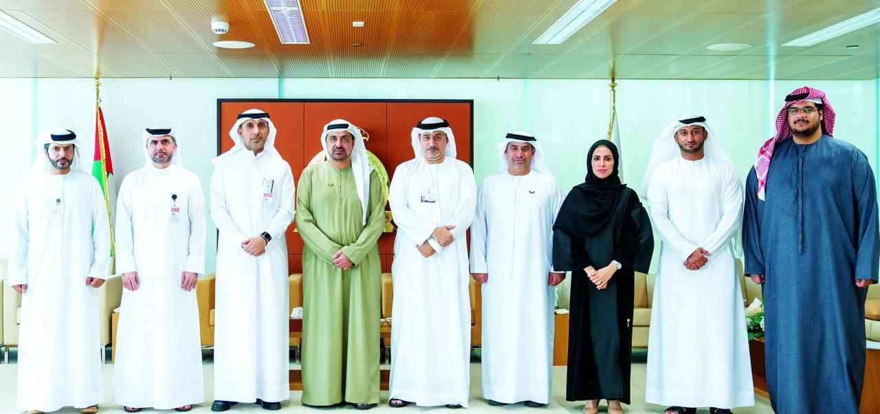 مفوض مسار الأمن والعدل يطلع على جهود «دبي للإسعاف»