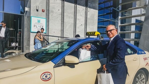 Millennium Place Barsha Heights hosts 'Taxi at your doorstep' in collaboration with RTA