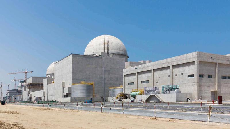 الإمارات.. أول دولة عربية تُشغّل محطة للطاقة النووية السلمية