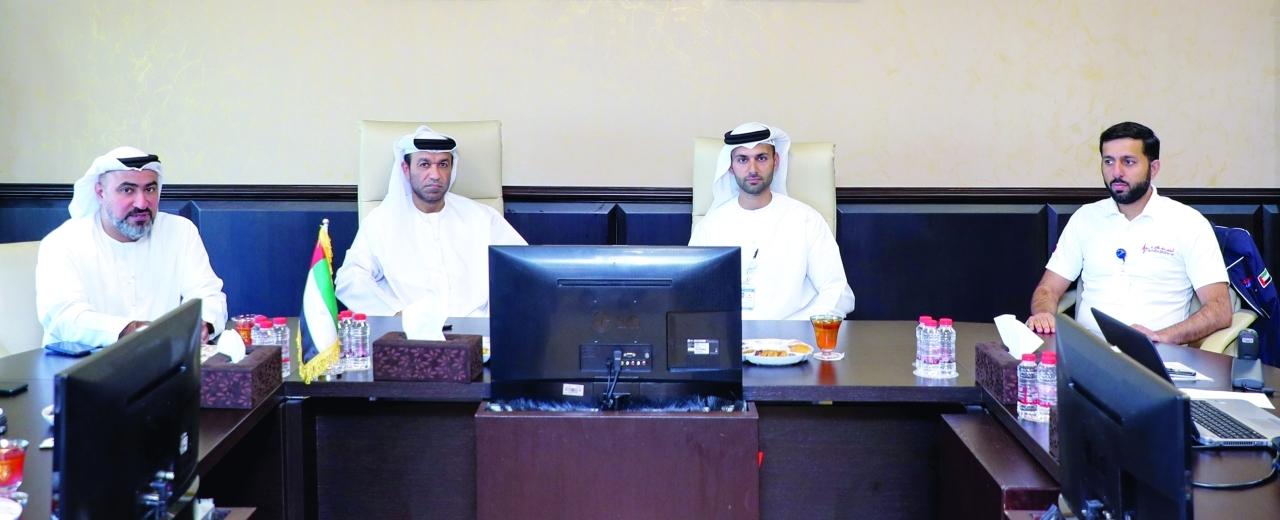 «إسعاف دبي» تطلع وفداً من أبوظبي على آلية عملها