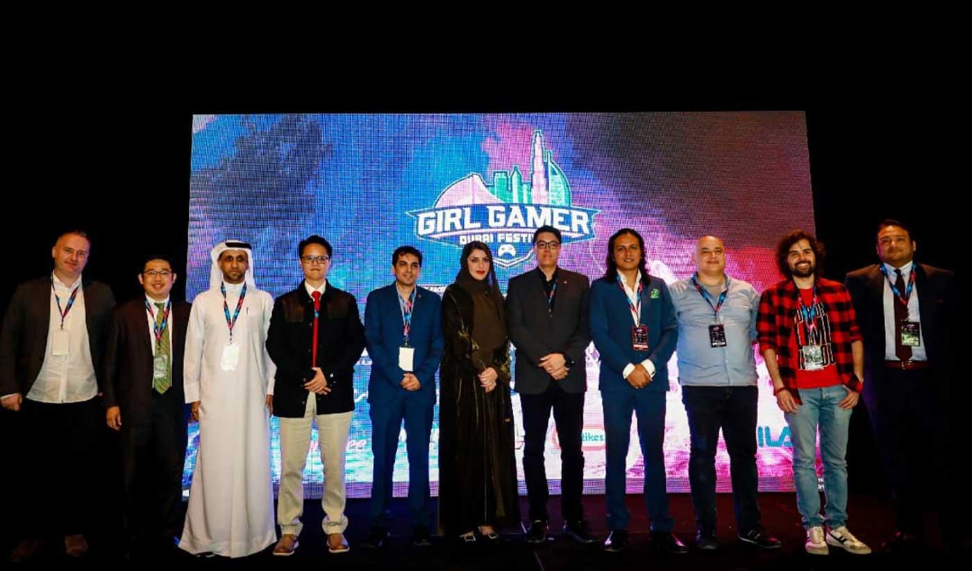 """انطلاق مهرجان """"غيرل غيمر"""" للألعاب الافتراضية الترفيهية في دبي"""