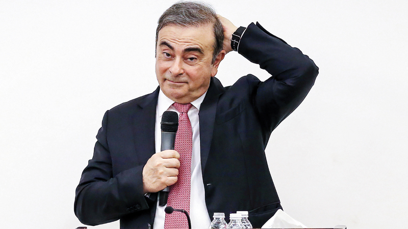 «نيسان» تطالب غصن بتعويضات تصل إلى 91 مليون دولار