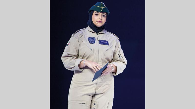 موزة آل مكتوم تشارك «المنتدى» تجربتهــــــا في عالم الطيران