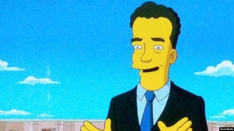 """مسلسل سيمبسون """"تنبأ"""" بإصابة توم هانكس بفيروس تاجي"""