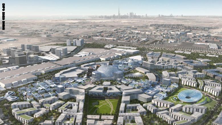 """في دبي..موقع """"إكسبو 2020"""" يواجه فيروس كورونا ببرنامج التعقيم الوطني"""