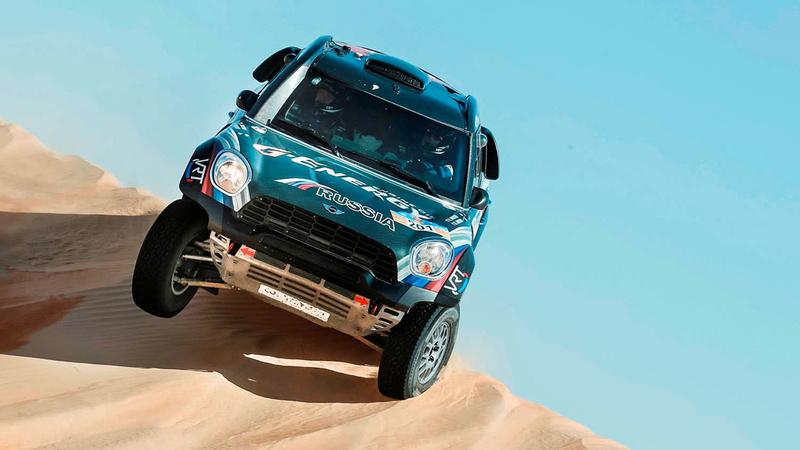 رالي دبي الصحراوي 2020