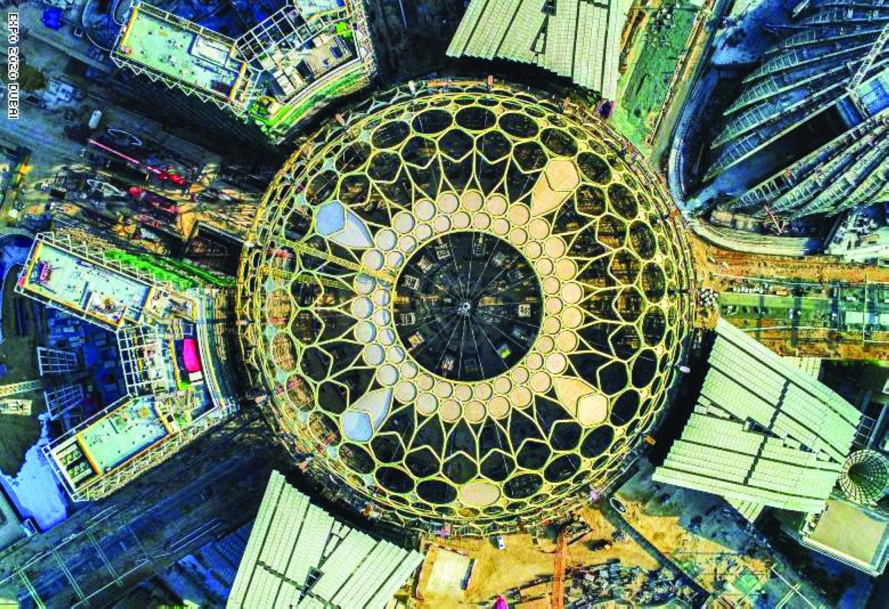 «إكسبو دبي» استمرار لسلسلة العجائب المعمارية