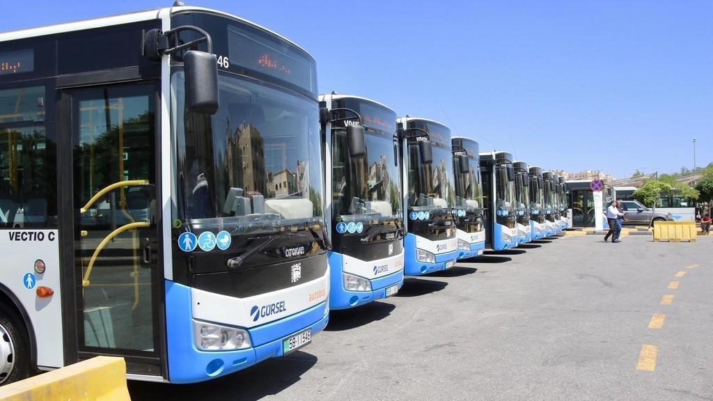 اعادة عمل قطاع النقل العام في جميع محافظات الاردن