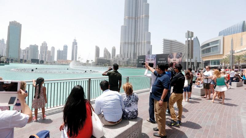 دبي تستقبل 3.27 ملايين زائر دولي خلال يناير وفبراير
