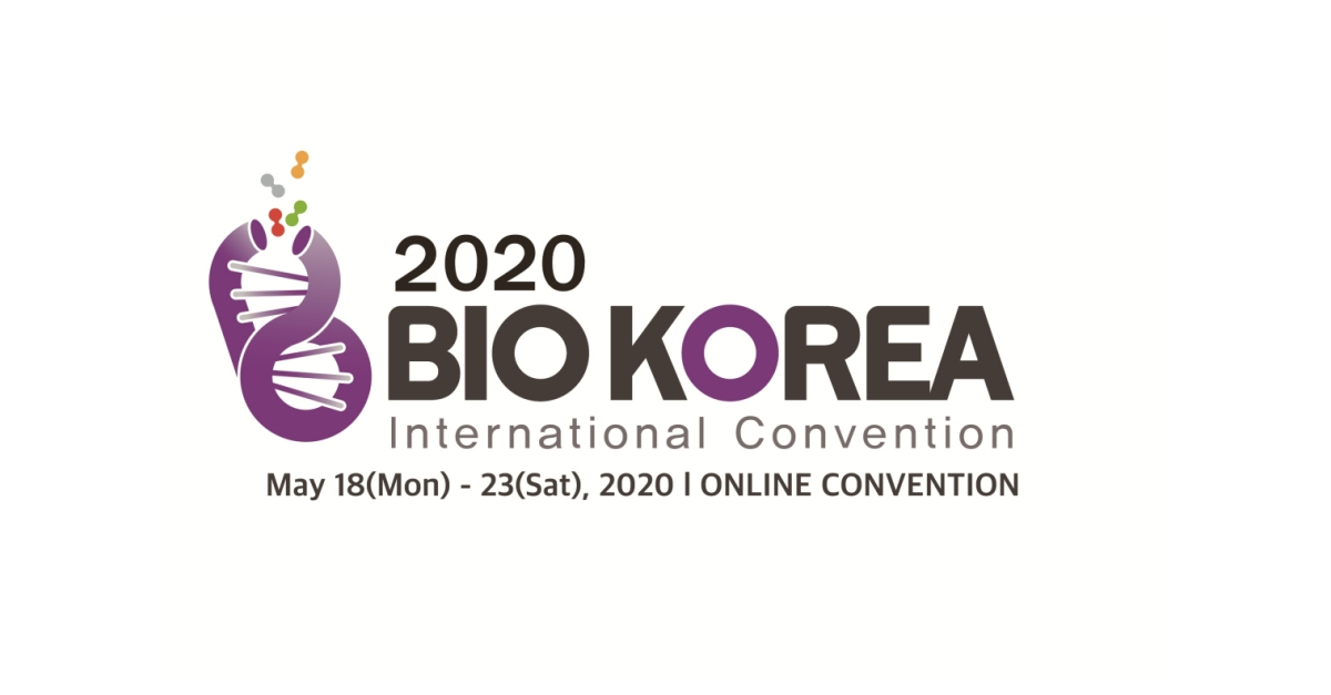 What Biopharma Needs, BIO KOREA 2020 International Convention Delivers Online
