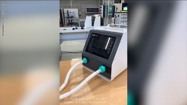 ابتكار أول جهاز تنفس صناعي لمواجهة فيروس كورونا