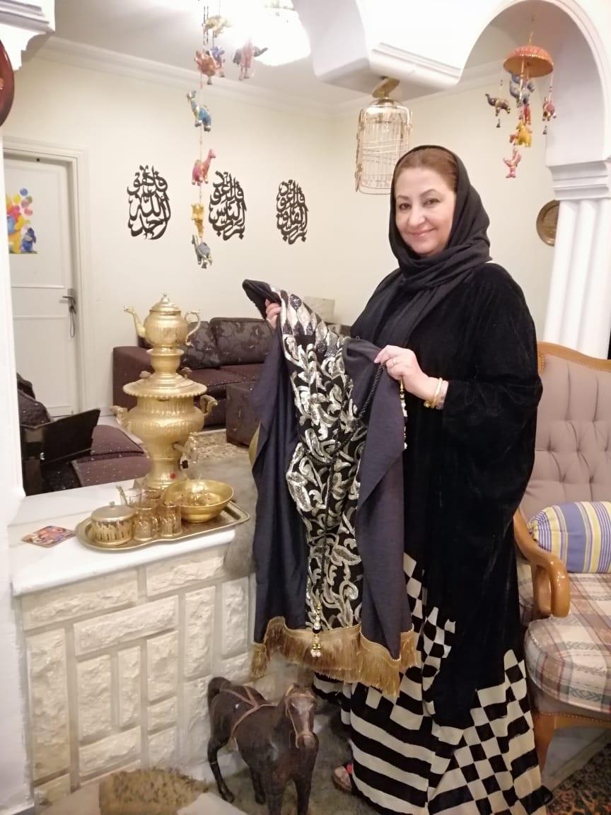 سما بغداد… حكاية ابداع تنسجها اميرة السامرائي