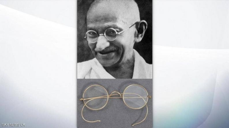 نظارة غاندي ستعرض للبيع بمزاد علني عبر الإنترنت ليوم واحد فقط