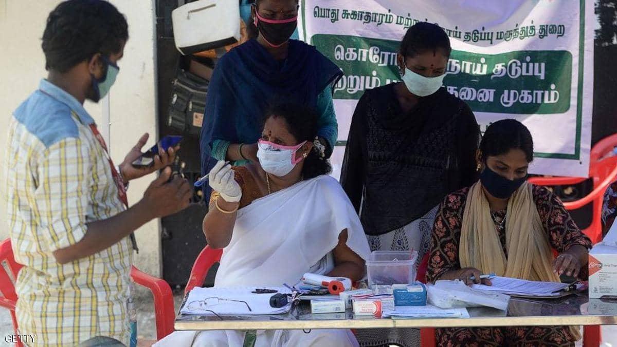 الهند.. إصابات كورونا تصل إلى 3.6 مليون حالة