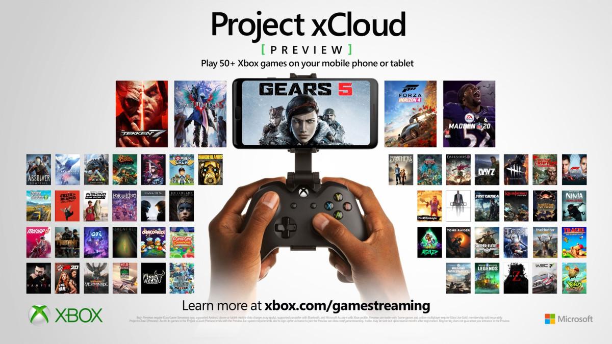 xCloud من مايكروسوفت لديها أكثر من 150 لعبة