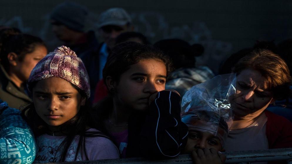 طرد 8800 طفل مهاجر بموجب قواعد مكافحة الفيروس في الولايات المتحدة