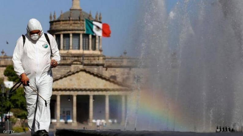 المكسيك تسجل رقما قياسيا في عدد الاصابات بكورونا