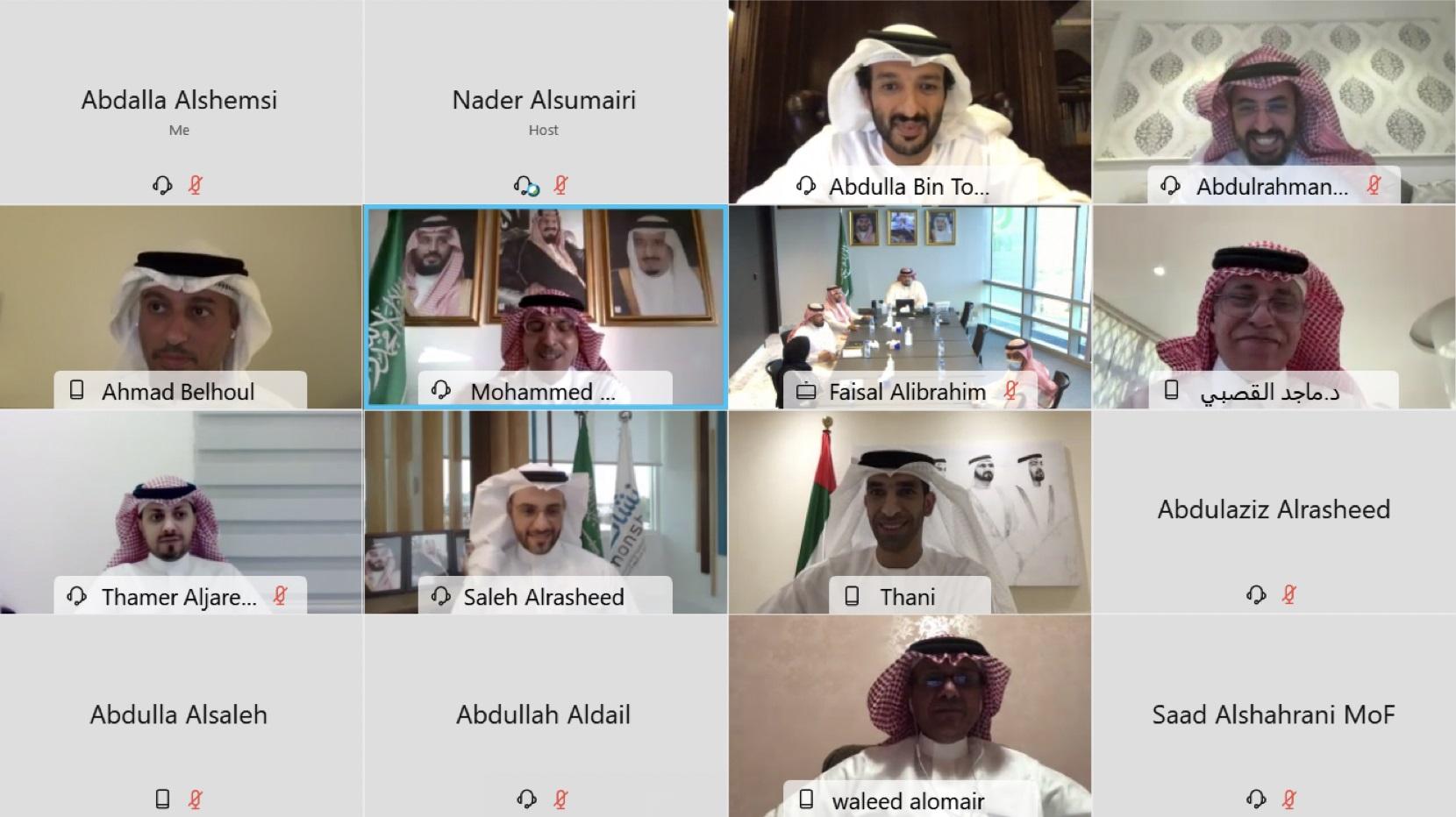 وزراء الاقتصاد يبحثون سبل تنمية الشراكة الاقتصادية الإماراتية – السعودية