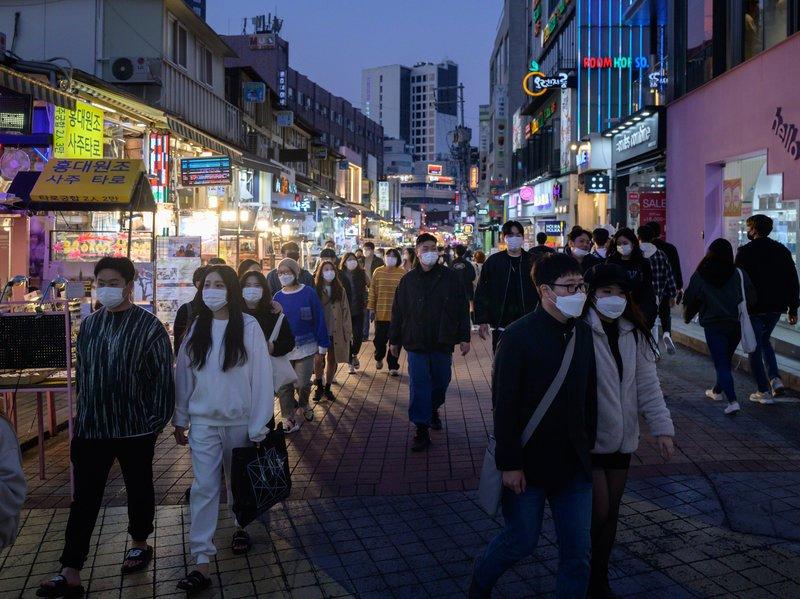تسجيل 58 إصابة جديدة بفيروس كورونا في كوريا الجنوبية