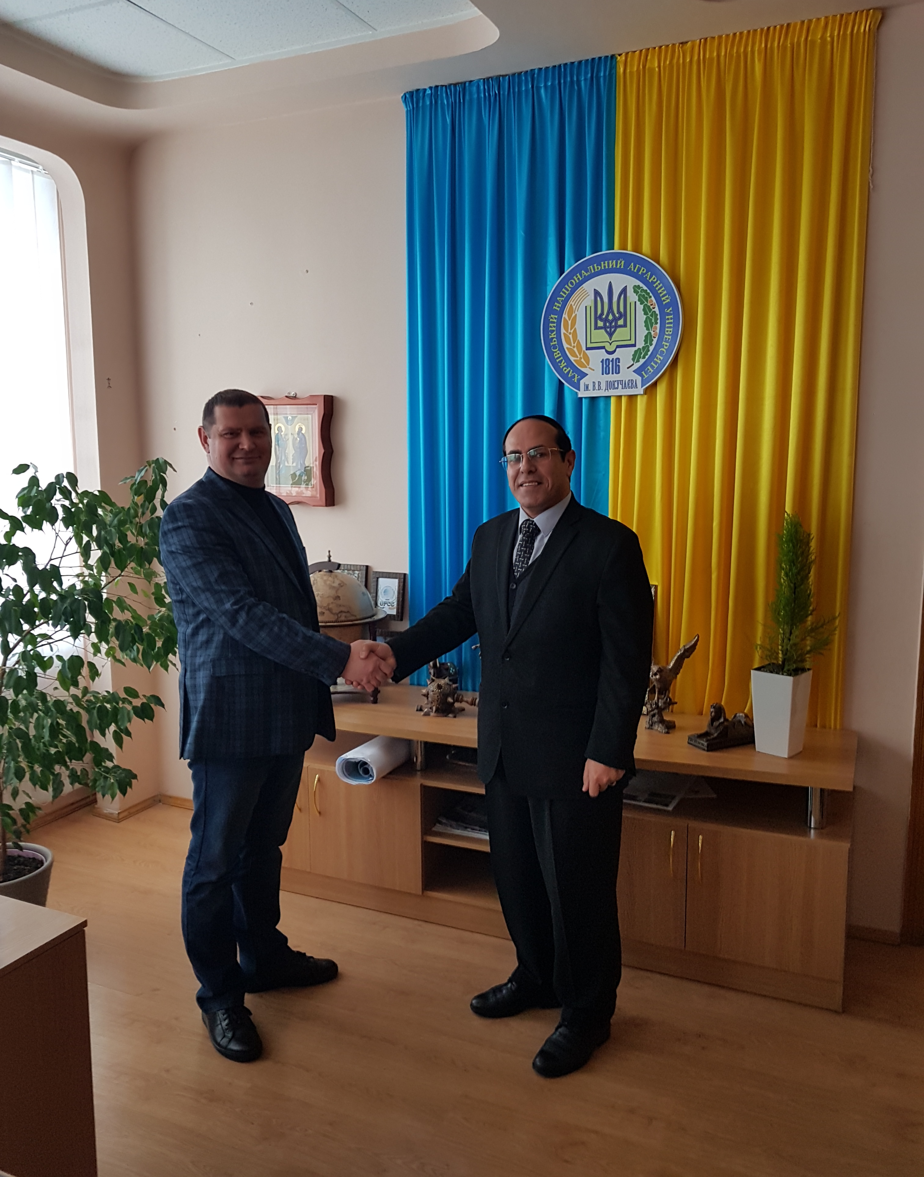 'Finance and Business' interviews the Vice-President of Kharkiv National Agrarian University
