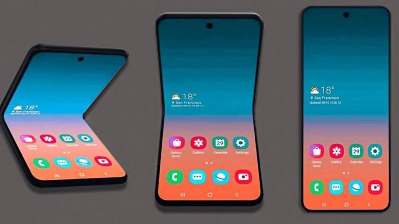هاتف جديد لسامسونغ قابل للطي يعمل مع شبكات 5G
