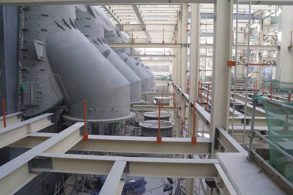 أولى محطات براكة الإماراتية تصل إلى 80% من قدرتها الإنتاجية