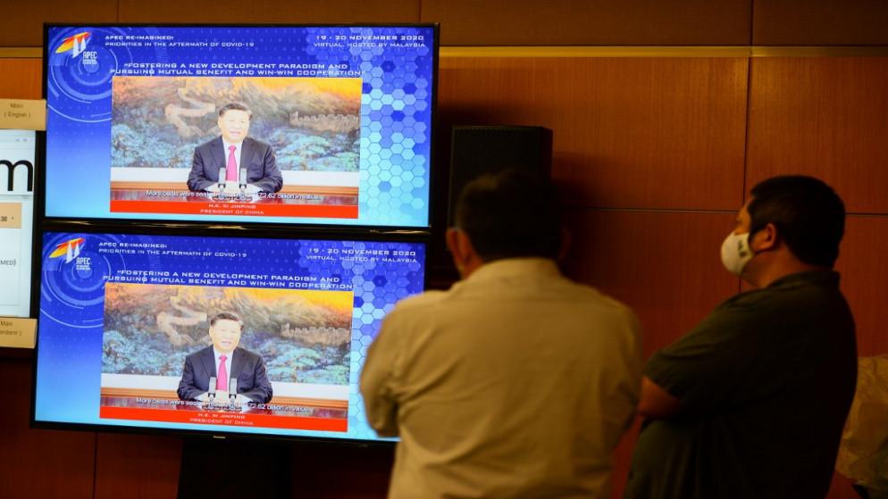 الرئيس الصيني يتعهد أمام قمة آبيك بانفتاح الصين تجاريا