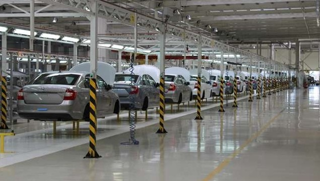 انخفاض اسعار السيارات في اوكرانيا بنسبة35 %