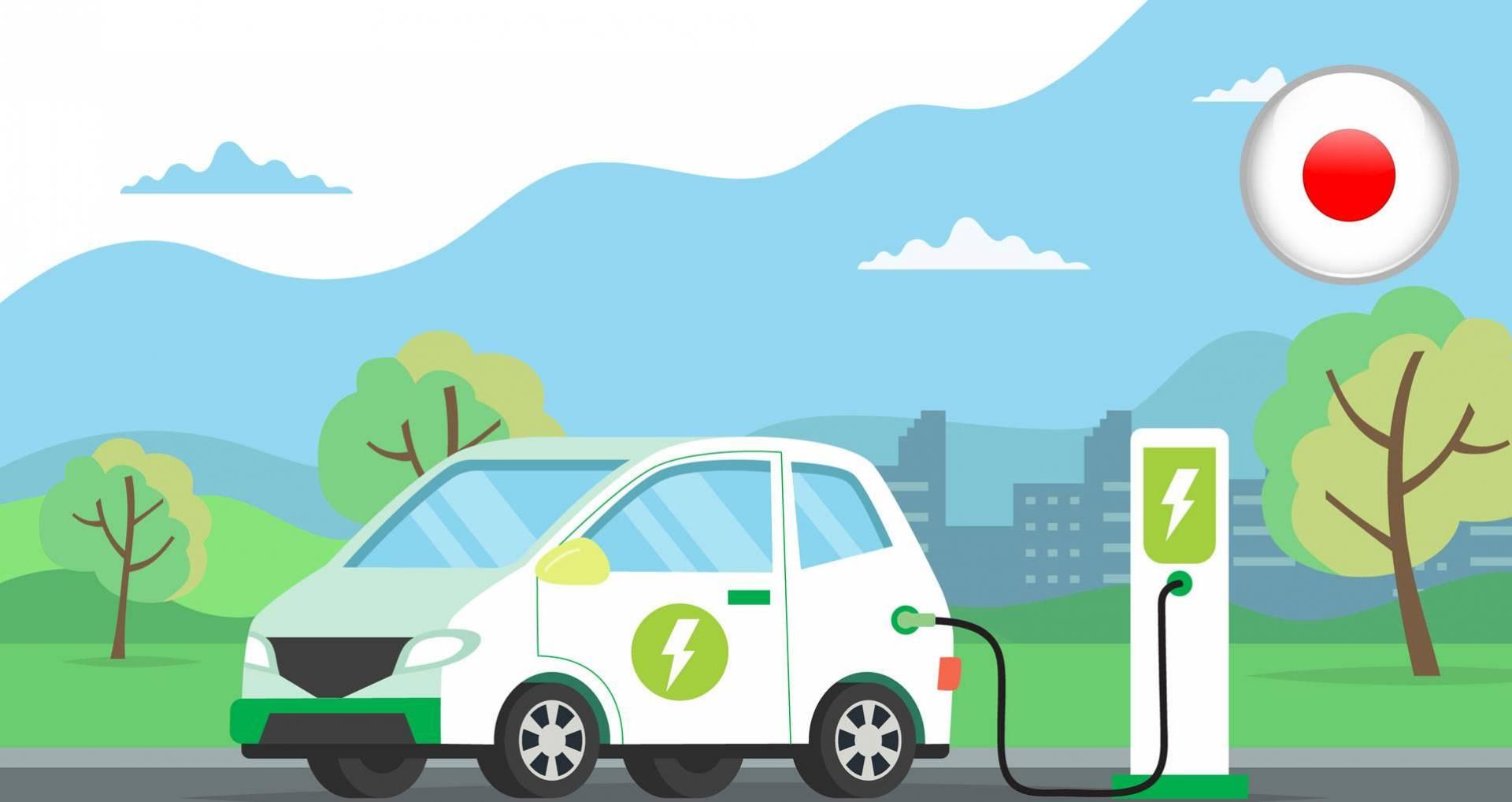 اليابان تسعى الى تحول مركباتها الى الطاقة الكهربائية