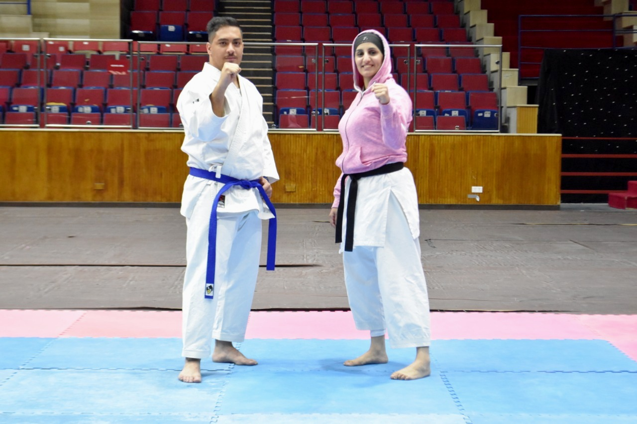 """جامعة عمان الأهلية تحرز المركز الثالث لبطولة الكراتيه """"كاتا"""" لفردي الطالبات"""