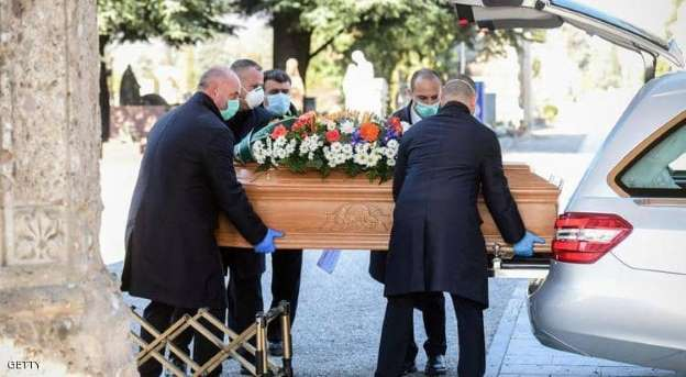 وفيات كورونا تتخطى الحواجز وتصل الى ارقام مخيفة في اوروبا
