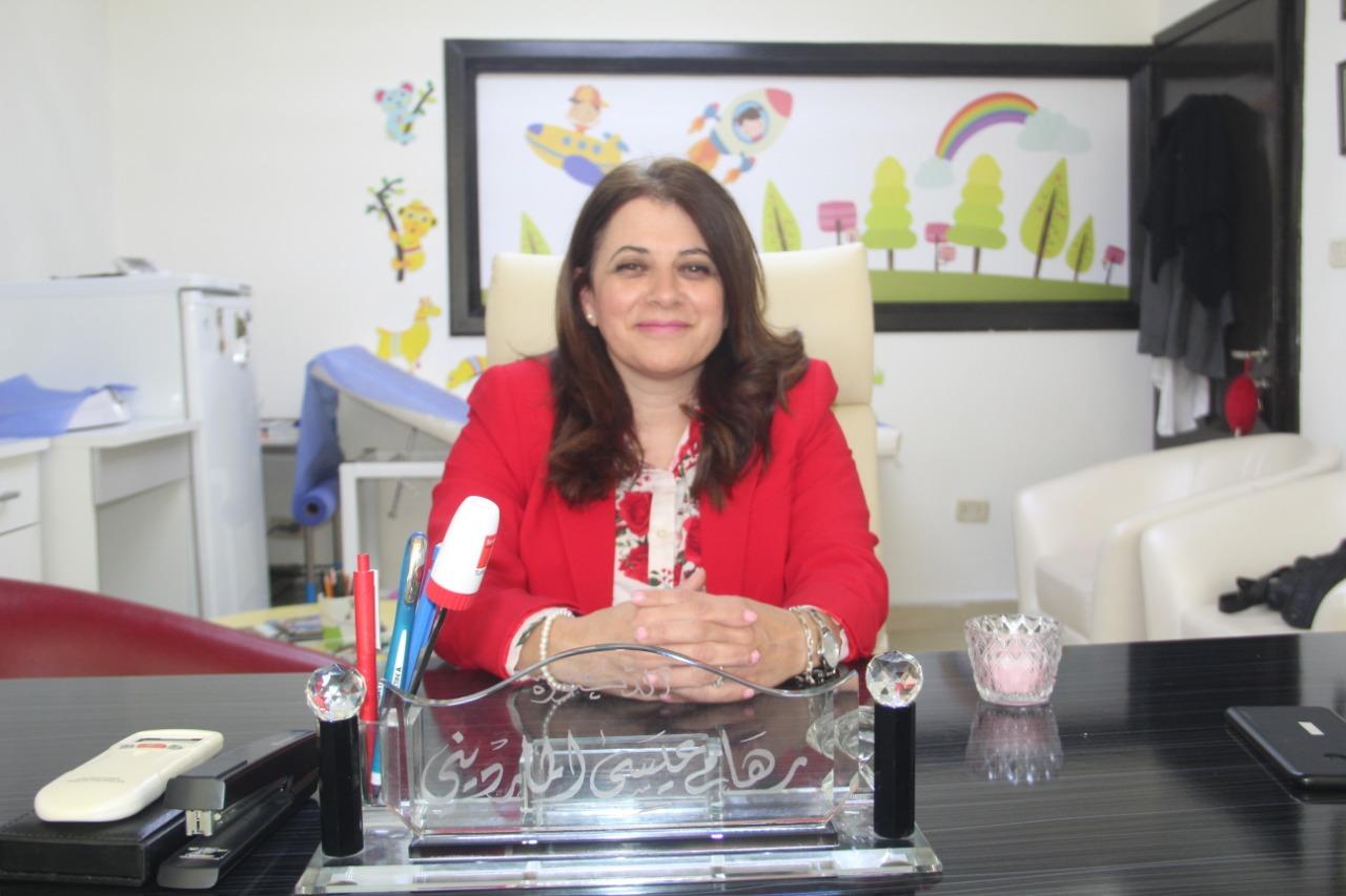 الدكتورة رهام عيسى المارديني