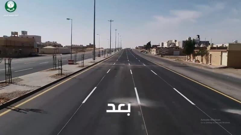 إنجاز 48% من مشروع تطوير طريق الطائف في الرياض