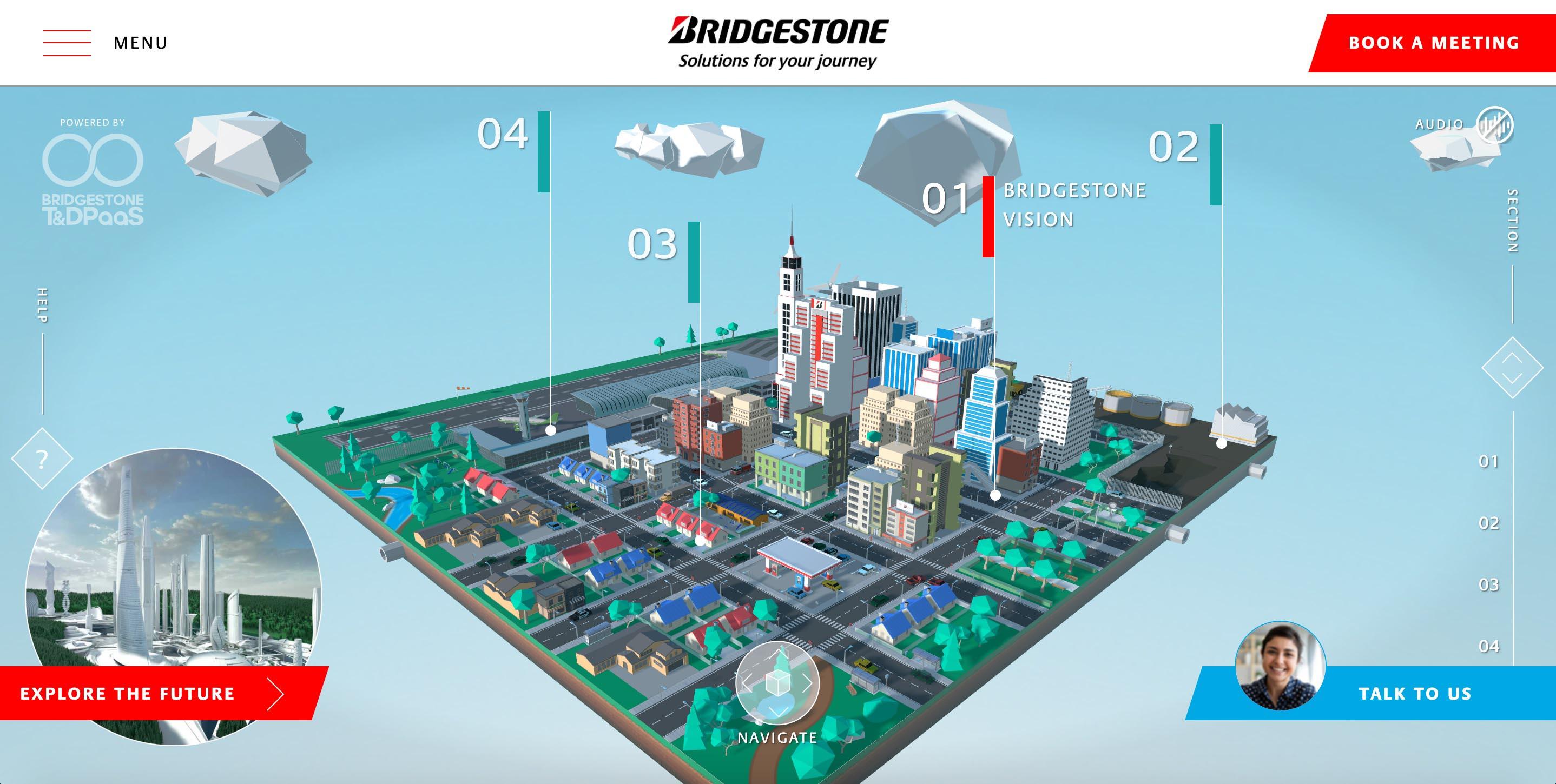 """""""بريجستون"""" تكشف عن مدينتها الافتراضية """"عالم بريجستون"""" وتعرض حلول التنقل المتطورة خلال مشاركتها في معرض الإلكترونيات الاستهلاكية CES 2021"""