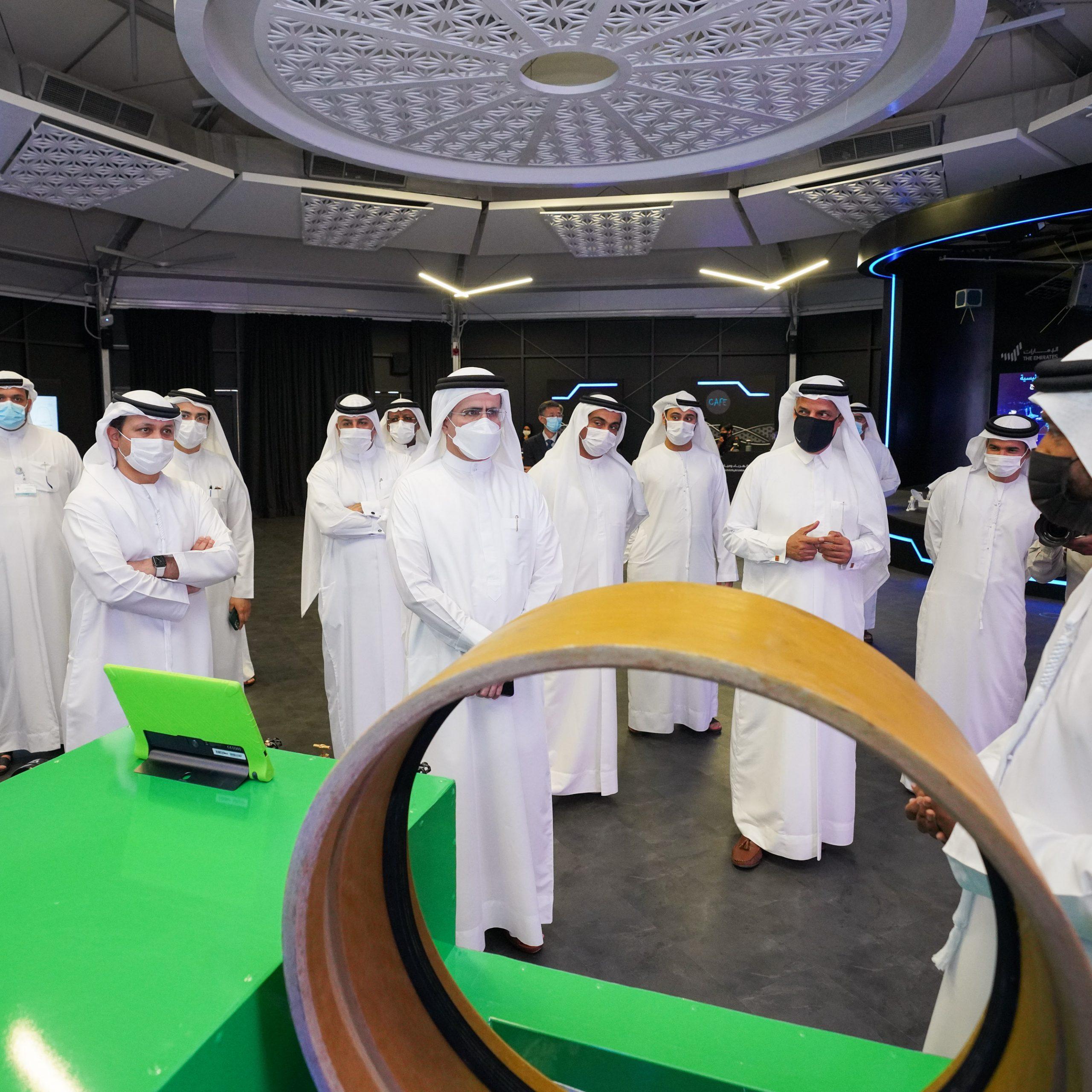 """معالي سعيد محمد الطاير يفتتح أسبوع هيئة كهرباء ومياه دبي للابتكار في إطار فعاليات """"الإمارات تبتكر 2021"""""""