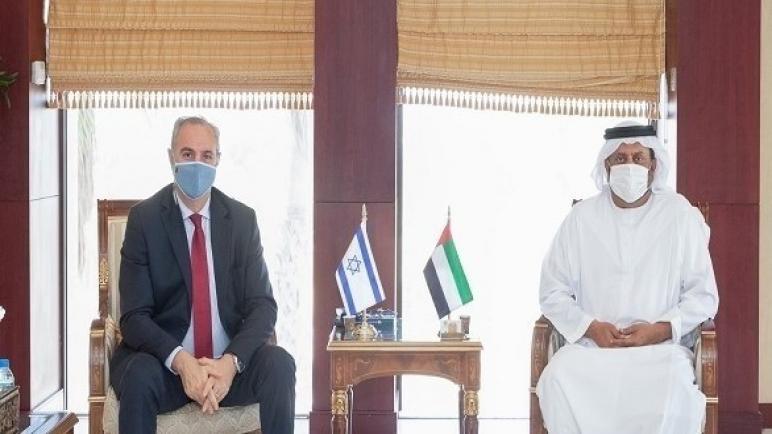 غرفة أبوظبي تجتمع لبحث العلاقات التجارية مع إسرائيل
