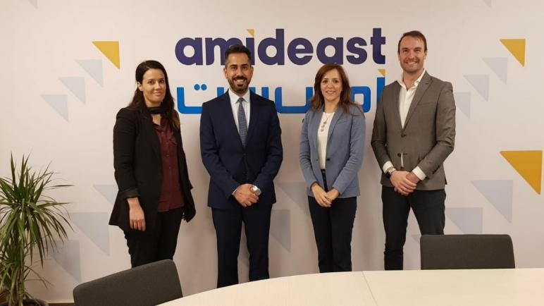 عمان الأهلية وأمديست تبحثان سبل التعاون لبرامج الابتكار