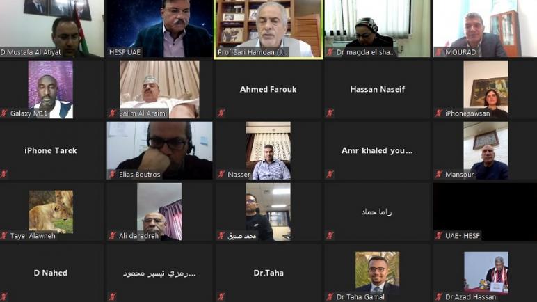 رئيس جامعة عمان الأهلية يحاضر في ندوة الإدارة المتميزة للنشاط الرياضي الجامعي