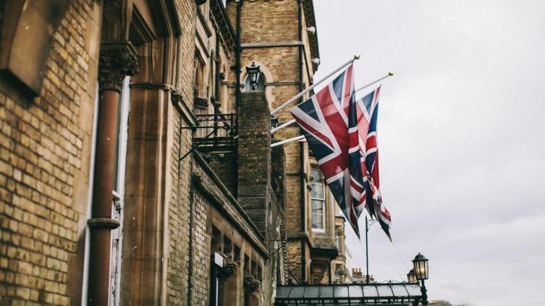 انكماش الاقتصاد البريطاني بنسبة اقل من المتوقع