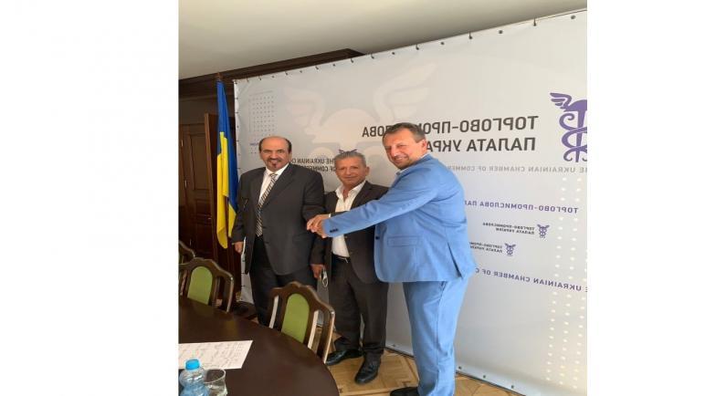 غرفتي التجارة الاوكرانية والقطرية تتحاوران حول تعزيز التعاون التجاري
