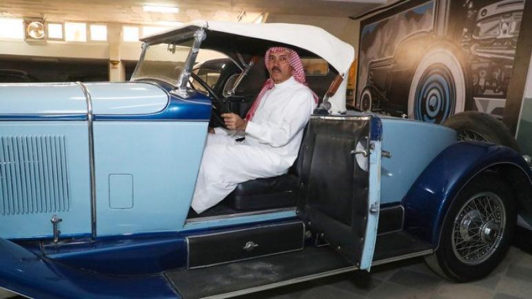 جامع السيارات الكلاسيكية السعودية يجلب قطعة من التاريخ إلى قلب صحراء المملكة العربية السعودية