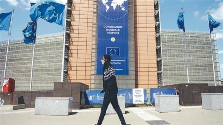 اقتصاد منطقة اليورو ينكمش بأكثر من المتوقع في آخر ربع من 2020