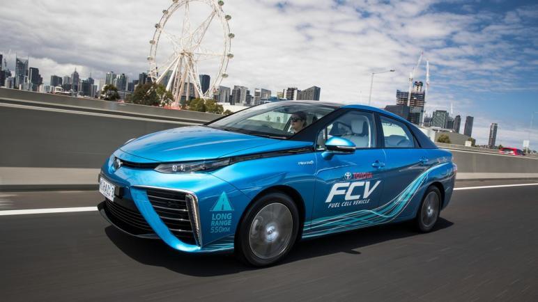 تويوتا تفتتح محطة للتزود بالوقود بالهيدروجين في ملبورن