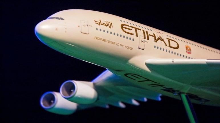 انخفاض خسائر الاتحاد للطيران في أبوظبي نصف السنوية إلى 400 مليون دولار