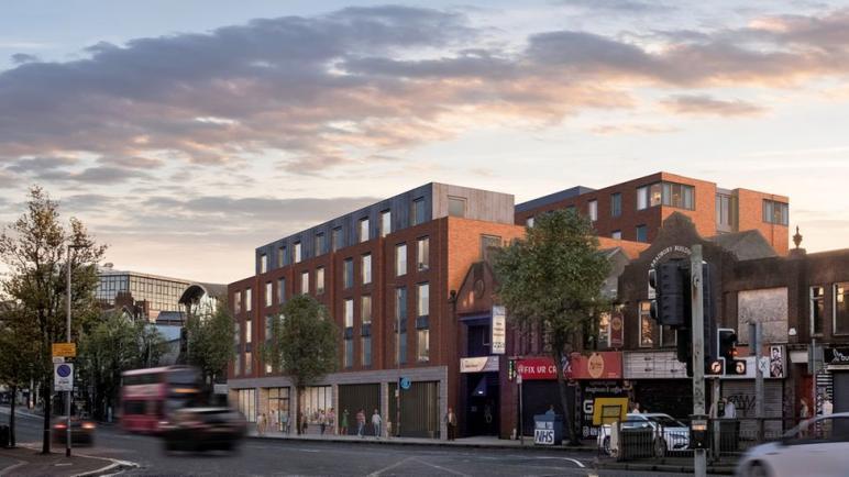 شركة دبلن تشتري مخطط سكن الطلاب في بلفاست