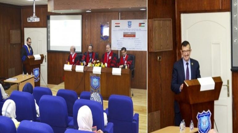 البدء بمناقشة رسائل الماجستير لطلبة العلوم الطبية المخبرية في عمان الأهلية